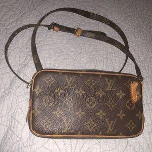 Monogram LV vintage purse.